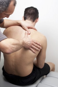 chiropractic treatment with chiropractor